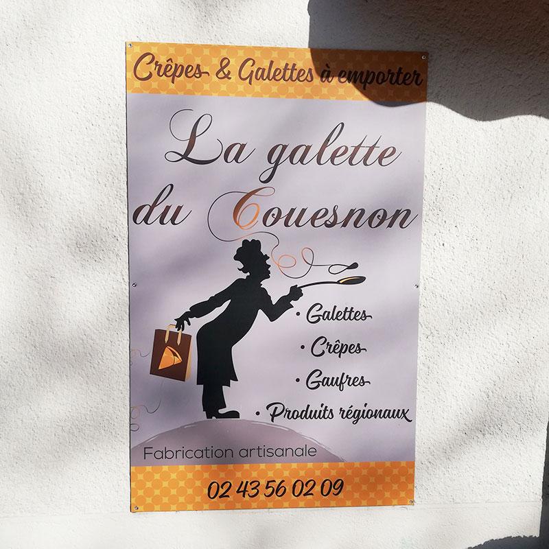 Enseigne La Galette du Couesnon