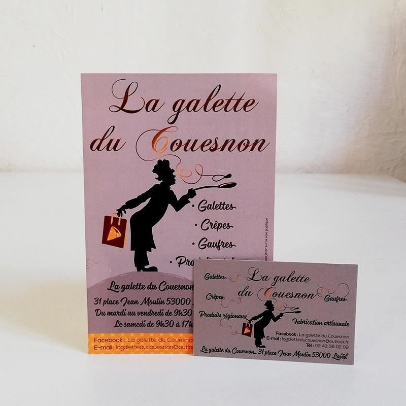 Flyer La Galette du Couesnon crépier à Laval
