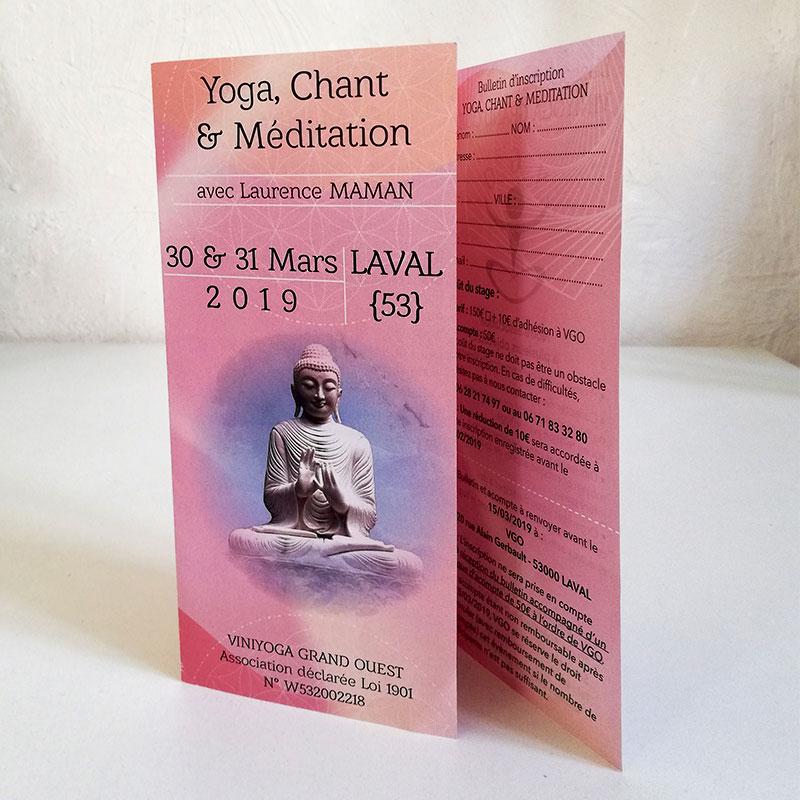 Dépliant Yoga-chant et méditation Vgo