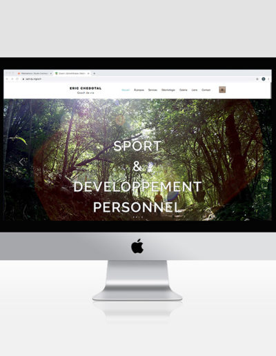 Site internet Eric Chédotal